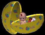 Пасхальные куколки 3D