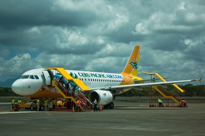 Филиппины, перелет из Пуэрто Принцеса в Себу