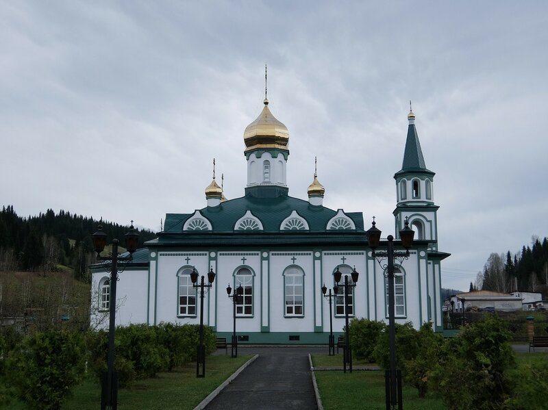 Таштагол - Церковь Великомученика Георгия Победоносца