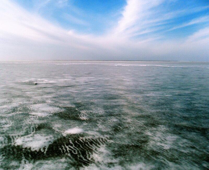 Лёд, Азовское море, январь 2012