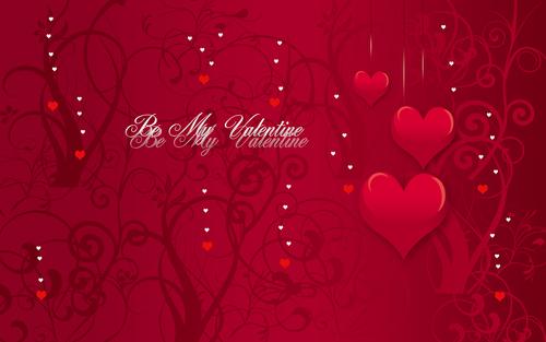 День Святого Валентина. Обои на рабочий стол