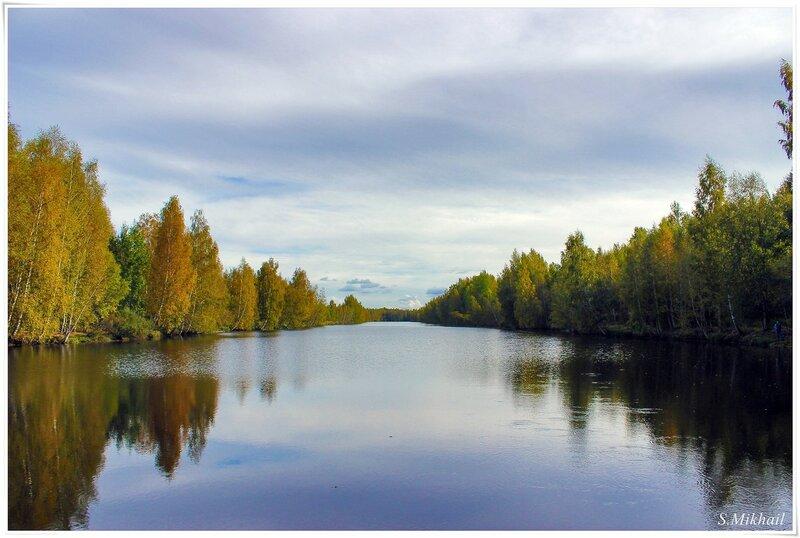 Река Юнтоловка.