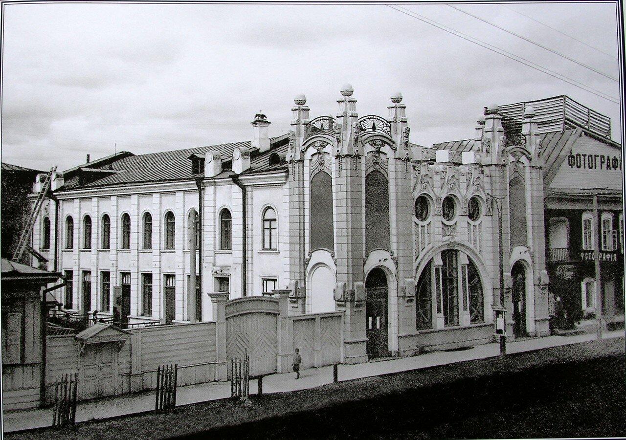 Электротеатр «Художественный» в Почтамтском переулке. 1913