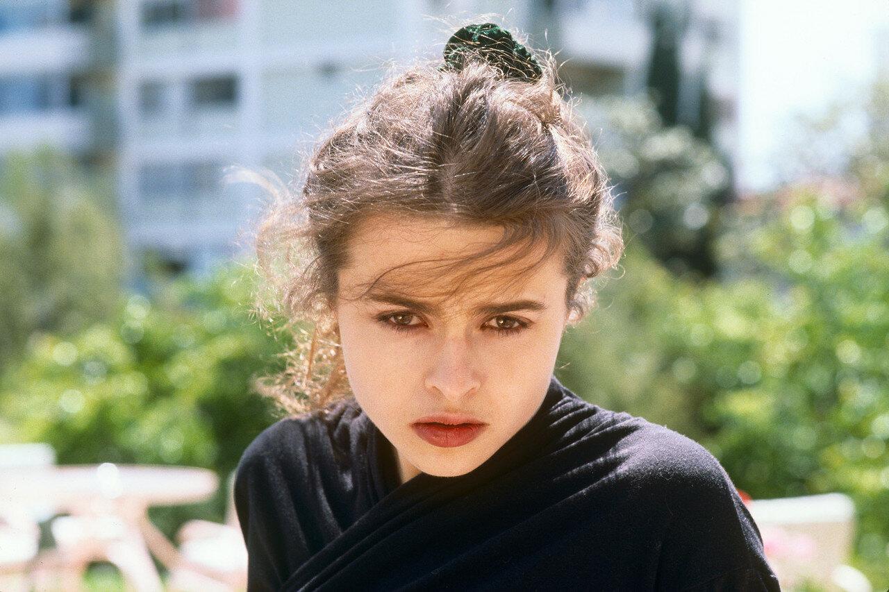 Actress Helena Bonham Carter Portrait Session