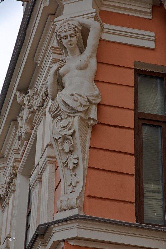 Жилой дом в стиле необарокко 1893 года постройки