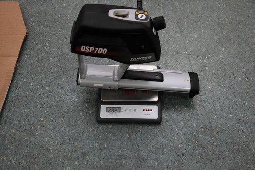 Задний датчик DSP706 весит всего 2,8 кг