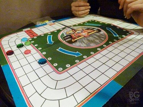 настольная игра Гонки