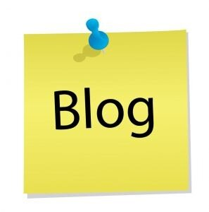 Стикер Блог
