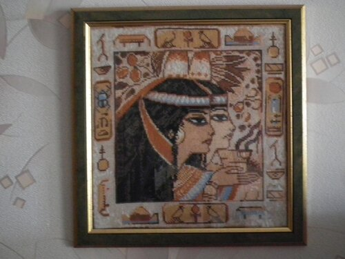 Египетская тема (крестик)