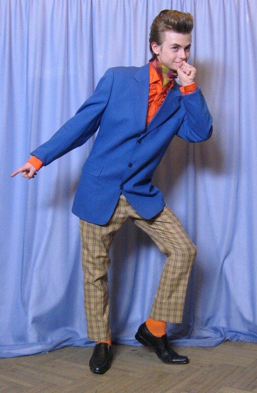 0 5a11c b32e4b4a XL Коллекция костюмов «Стиляги» в стиле 1950 х годов (фотографии)