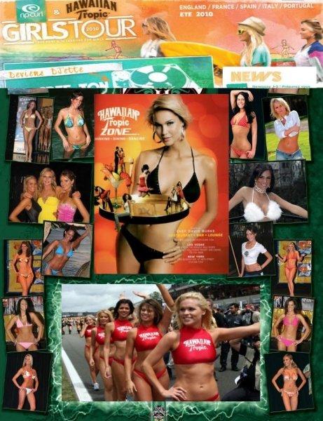 Лучшие девочки гаваиан тропик / Hawaian tropik the best of the Girl (2010/SATRip)