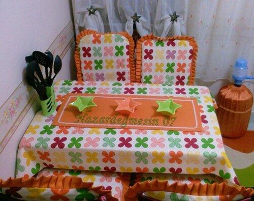 Чехлы из ткани на стулья