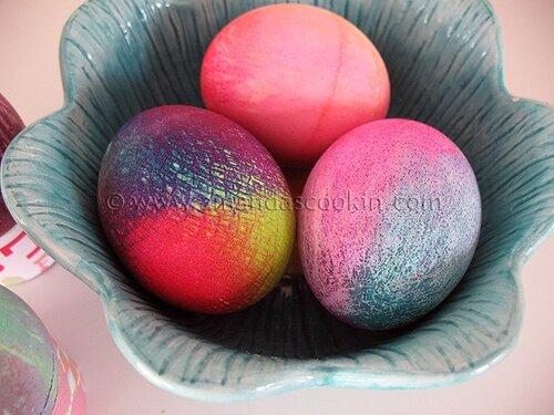 Крашенки - идеи окрашивания пасхальных яиц
