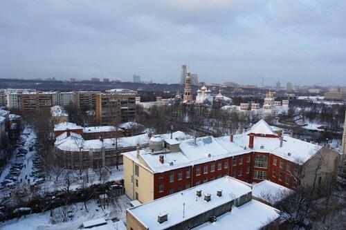 Февральская Москва