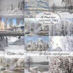 фоны новогодние