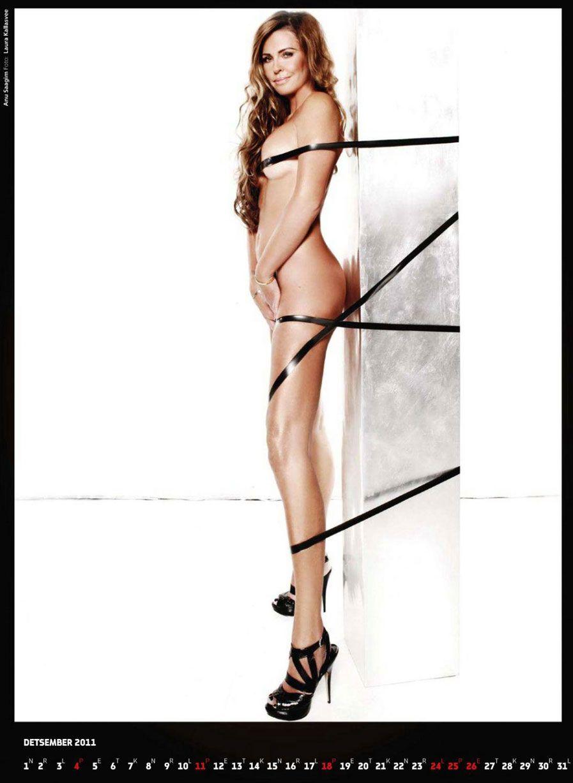календарь журнала Playboy Estonia calendar 2011 - Anu Saagim