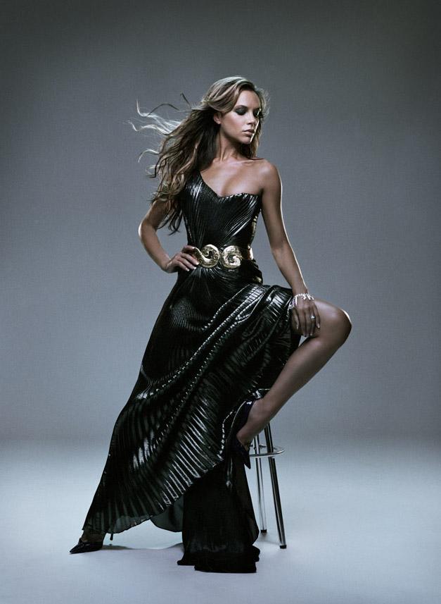 модель Виктория Бекхэм / Victoria Beckham, фотограф Anthony Mandler