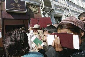 На миграционный учет в г. Артем поставлено почти 7 000 иностранцев