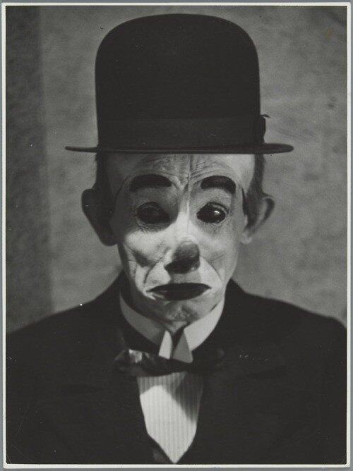 The comedian John Buziau by Wiel van der Randen