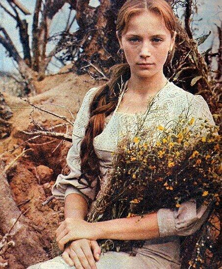фото: Валерий Плотников.Ирина Купченко.Обложка журнала Советский экран 1971 год