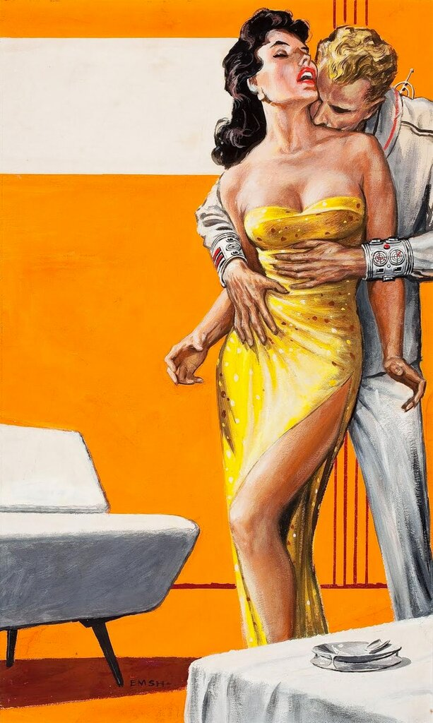by Ed Emshwiller. troubled star