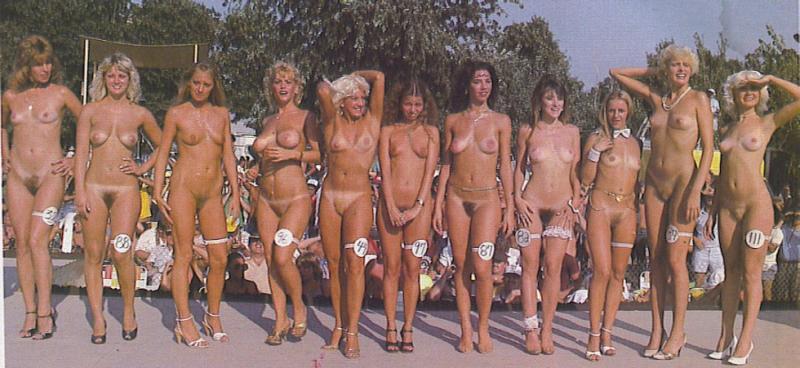 фото голых с конкурса
