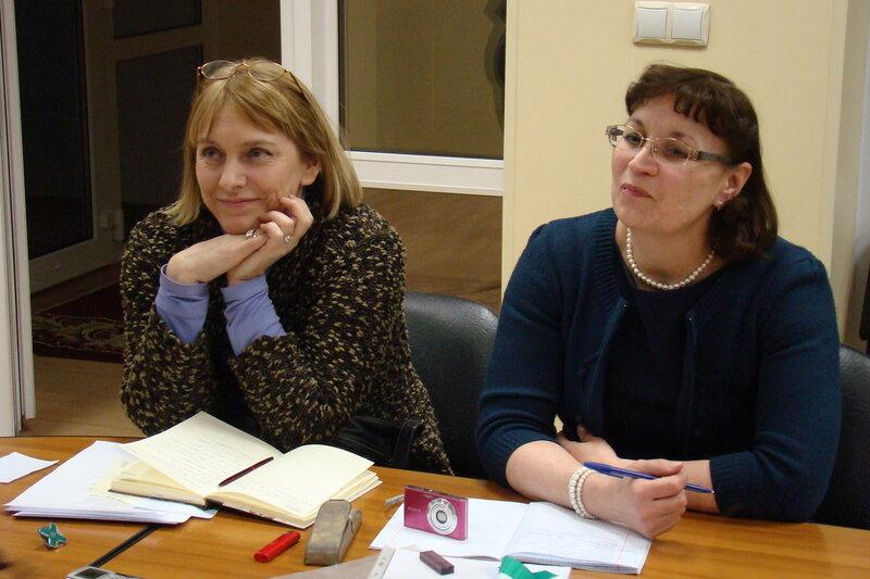 Елена Скворцова и Ирина Завьялова, Музей Е. А. Боратынского