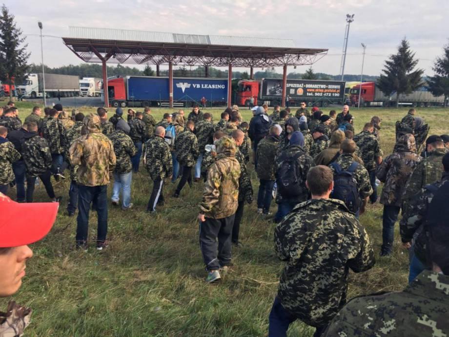 В тітушек на Краковце обнаружили травматическое оружие (ВИДЕО) — РНС