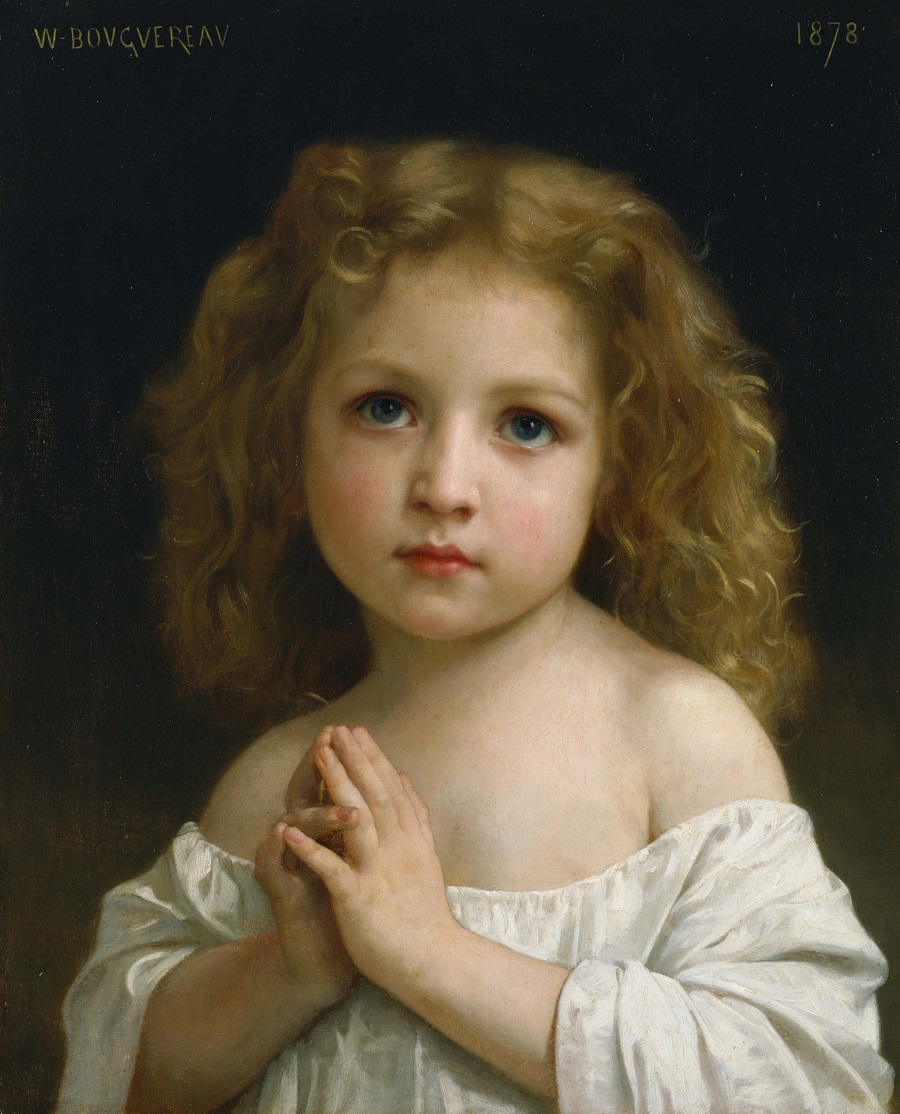 900 Prayer, 1878 William Adolphe Bouguereau.jpg