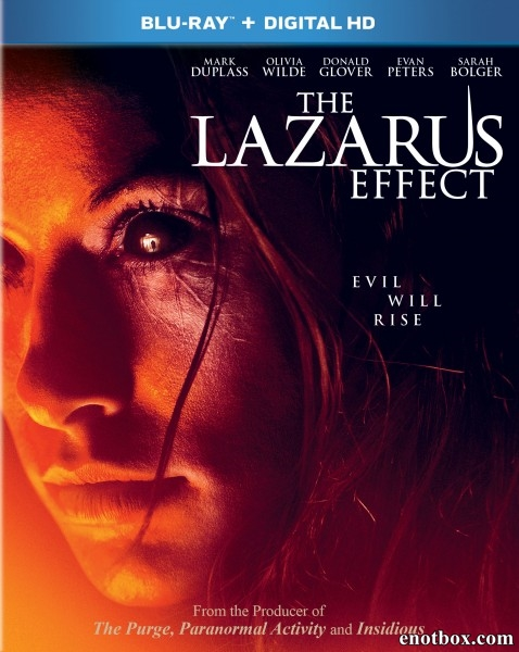 Эффект Лазаря / The Lazarus Effect (2015/BDRip/HDRip)