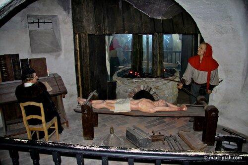 палач, музей пыток, чески-крумлов