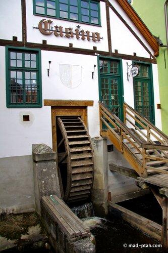 чески-крумлов, водяная мельница, чехия