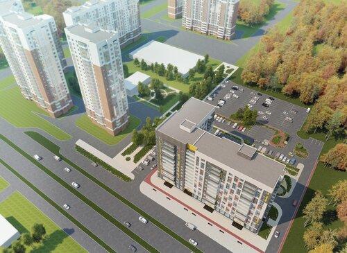 Согласован эскизный проект многоквартирного дома экономического класса для работников бюджетной сферы