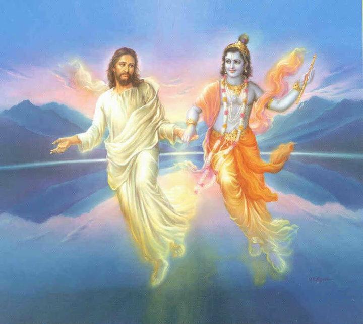 ИИСУС ХРИСТОС И КРИШНА