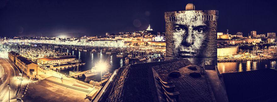 Световые граффити  Филиппа Эшару / Philippe Echaroux. Арт-проект «Painting With Lights»