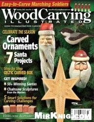 Журнал WoodCarving Illustrated №033 (Holiday 2005)