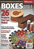 Книга Boxes, Bowls & Baskets - Scrollsaw Woodworking & Crafts 2012