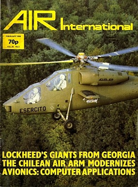 Журнал Air International - Vol 26 No 2