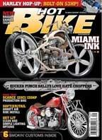 Журнал Hot Bike, September 2009