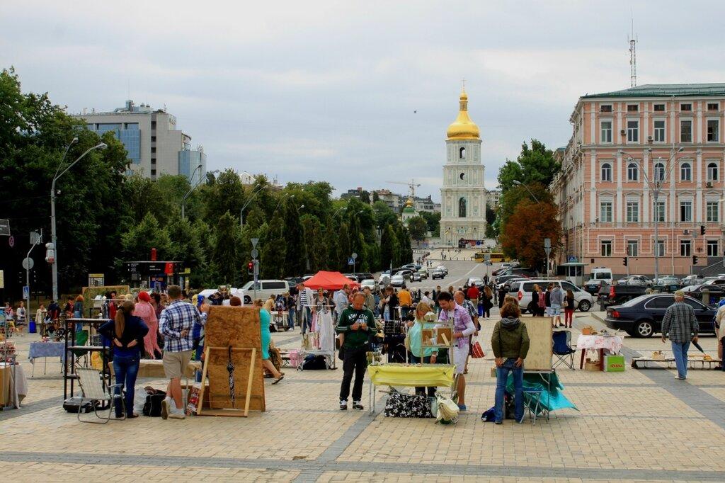 ярмарка михайловская площадь киев