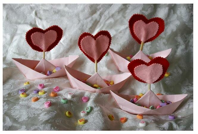 Подарки ко дню св.валентина своими руками
