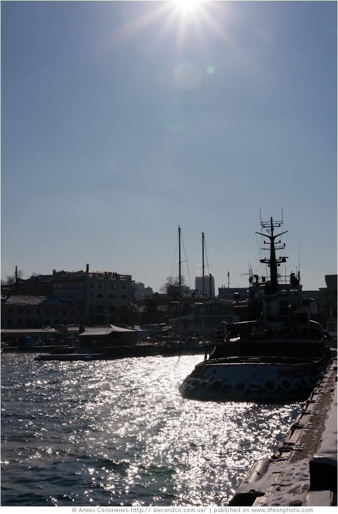 Зимний Севастополь