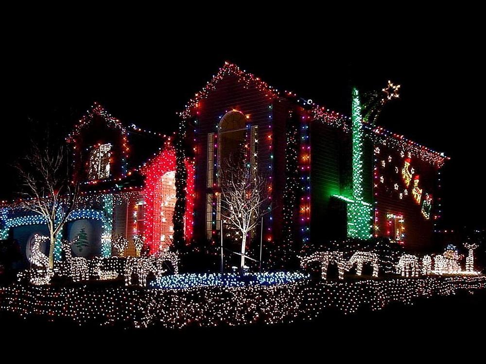 яркий домик