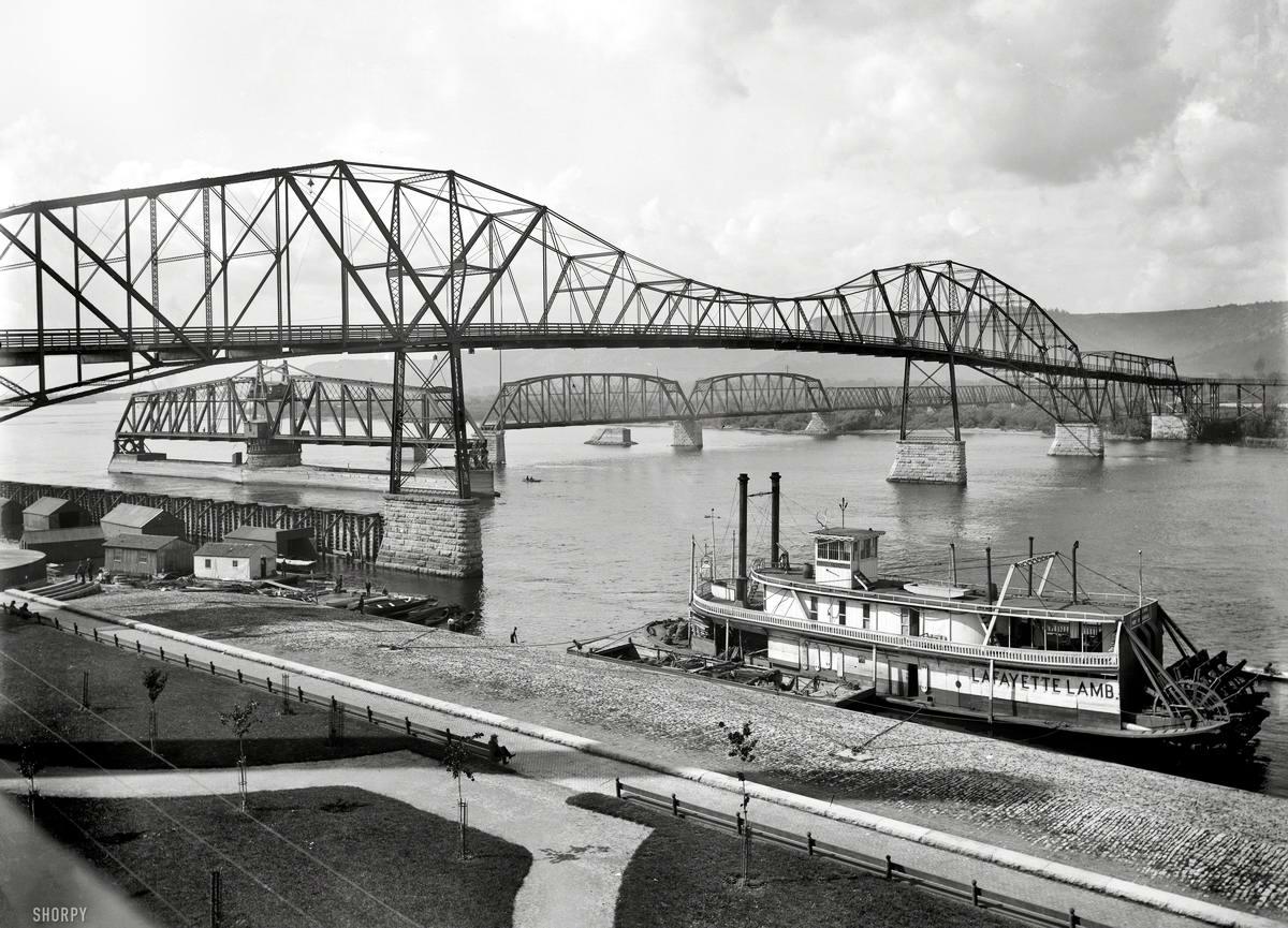 Корабли, речные суда и военные моряки на снимках американских фотографов конца 19 века (34)