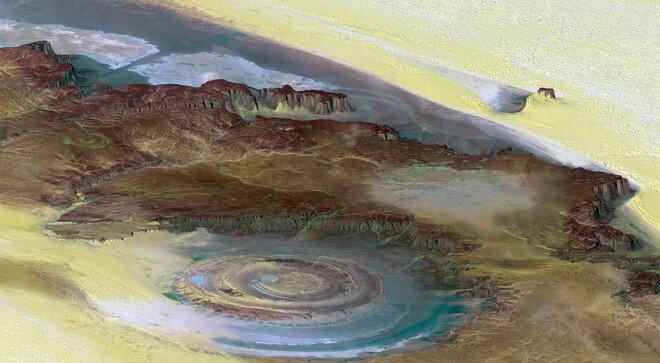 Глаз Сахары. Мавритания