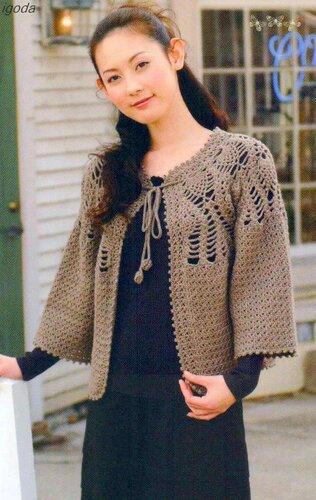 外网上几款漂亮的钩衣 - 让梦冬眠 - 让梦冬眠的博客