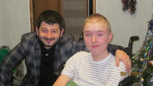 Даня Б. Встреча с М.Галустяном