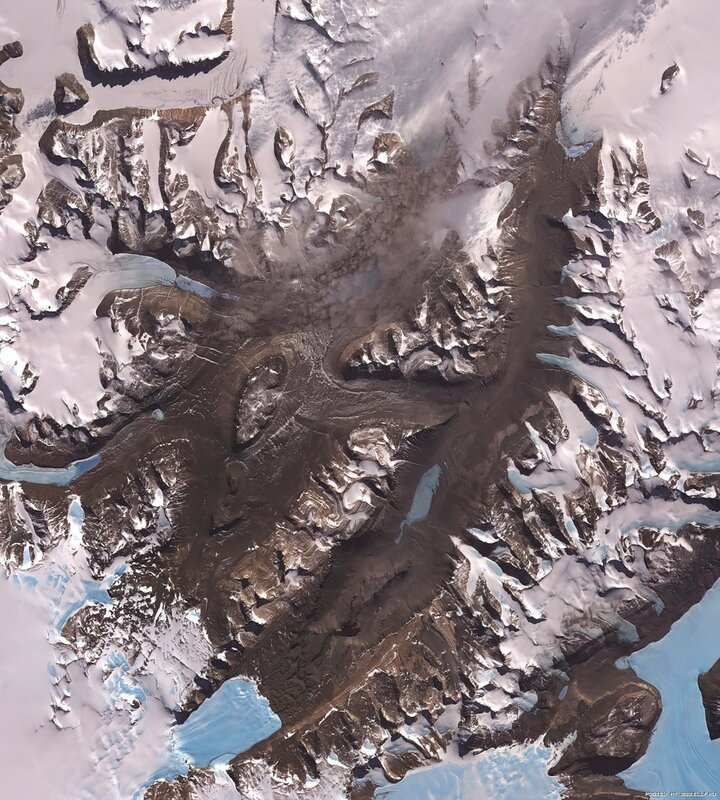 18. Сухие долины, Антарктида