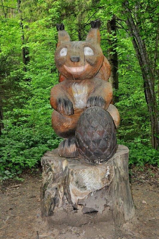 Природный парк Тервете (Tērvetes dabas parks)