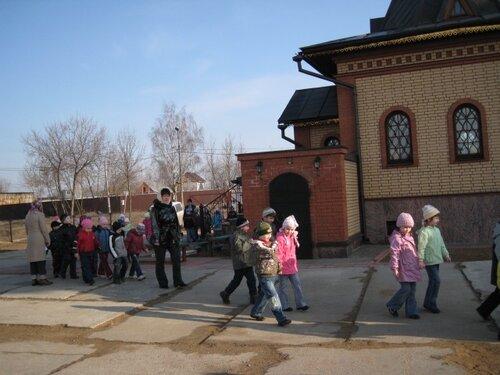 паломники из д.с. Берёзка